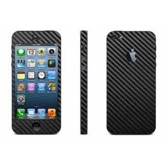 Karbónová fólia pre iPhone 5 komplet - rôzne farby