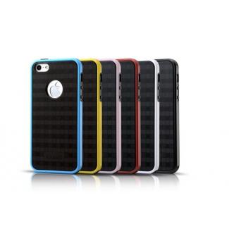 ICARER kryt pre iPhone 5, 5S s farebným lemom