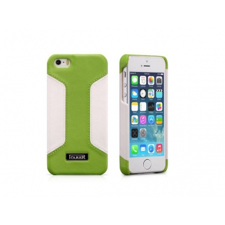Kožený obal pre iPhone 5, 5S, SE ICARER RIP 518