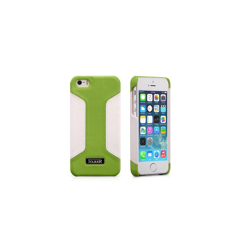 Kožený obal pre iPhone 5, 5S ICARER RIP 518