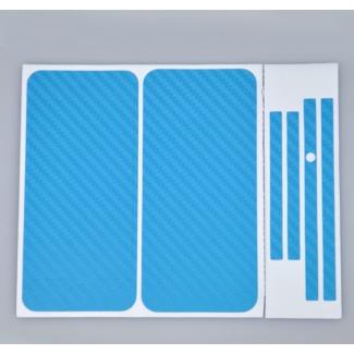 Karbónová fólia pre iPhone 4 komplet - rôzne farby