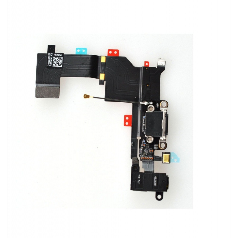 Nabíjací lightning dock a audio konektor pre iPhone 5S