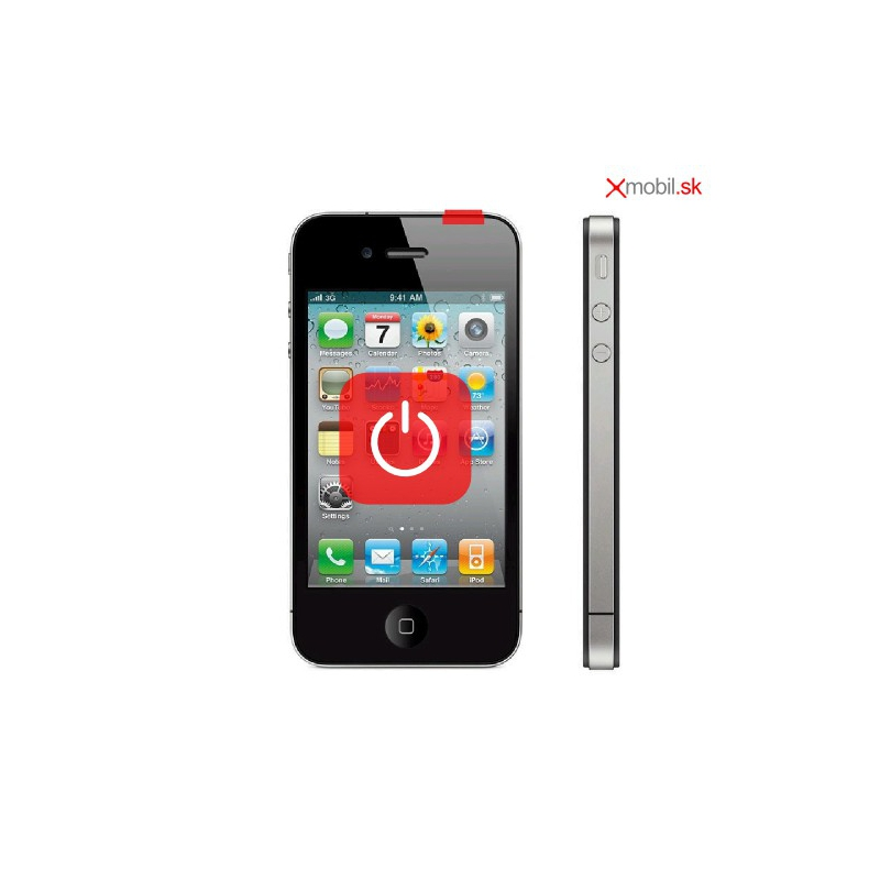 Výmena tlačidla zapínania ON/OFF na iPhone 4/4S v BA