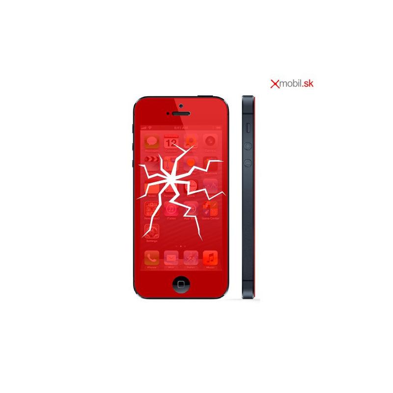 Výmena displeja so sklom na iPhone 5 v BA
