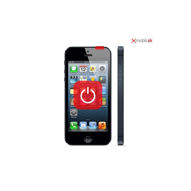 Oprava tlačidla zapínania ON/OFF na iPhone 5 v BA