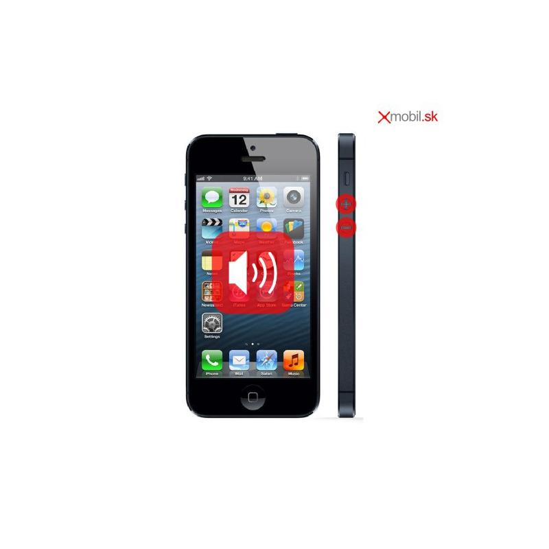Oprava tlačidiel hlasitosti na iPhone 5 v BA