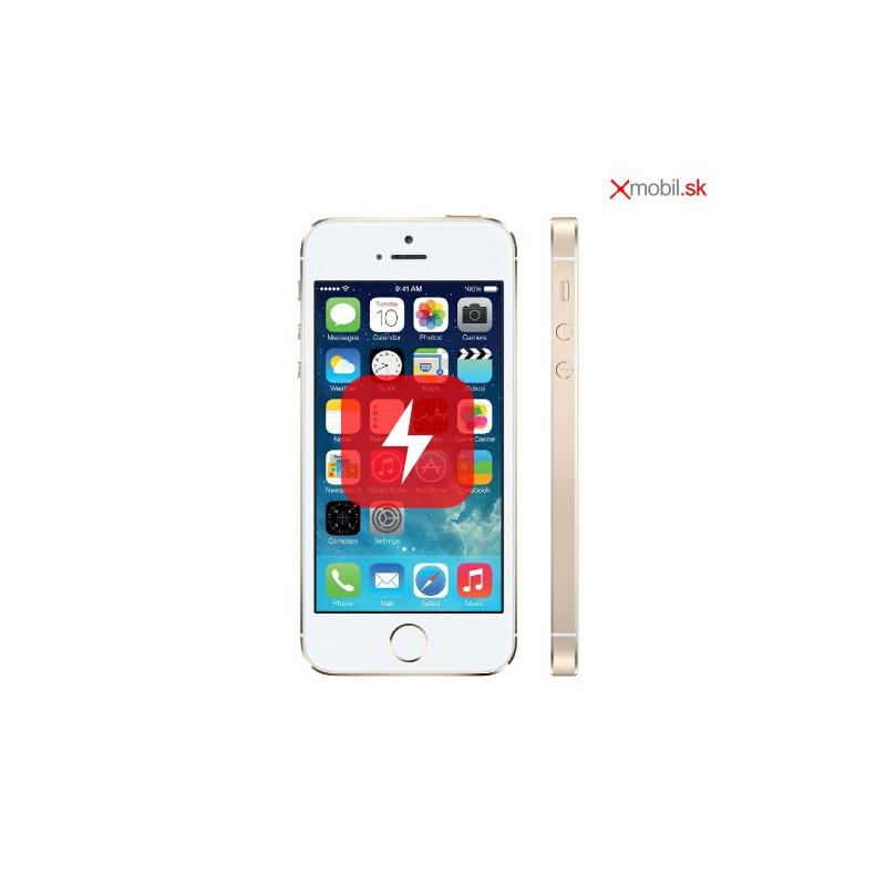 Výmena dockovacieho konektora na iPhone 5S v BA