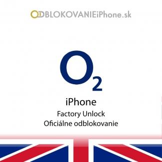Odblokovanie iPhone 3G, 3GS, 4, 4S - O2 UK