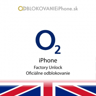 Odblokovanie iPhone 5, 5S - O2 UK