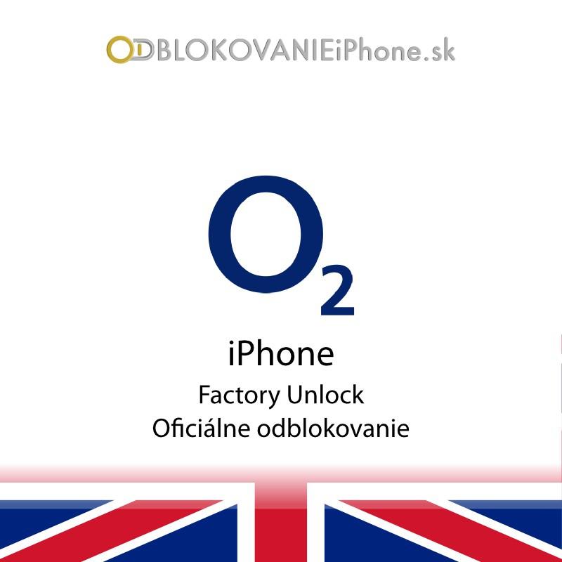 Odblokovanie iPhone 5 - O2 UK