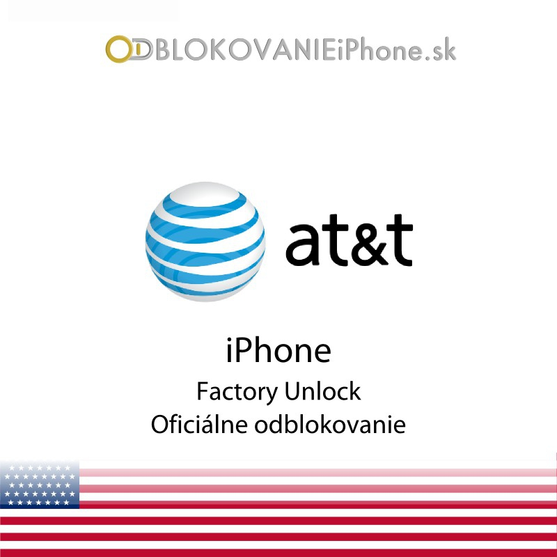 Odblokovanie iPhone 3G, 3GS, 4, 4S, 5 - AT&T USA