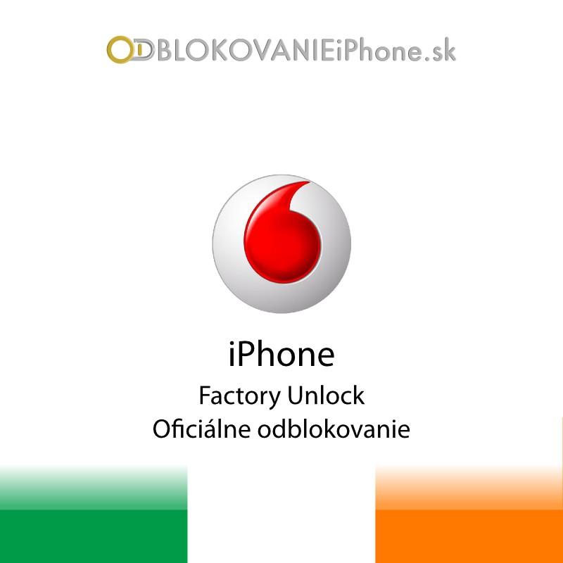 Odblokovanie iPhone 3G, 3GS, 4, 4S - Vodafone Ireland