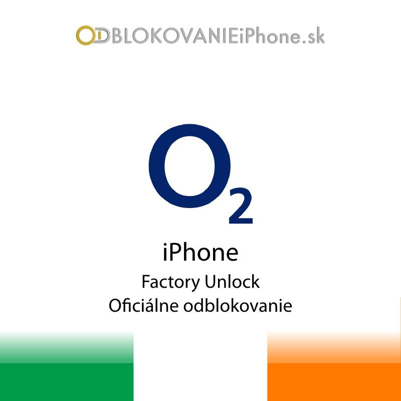 Odblokovanie iPhone 3G, 3GS, 4, 4S, 5 - O2 Ireland