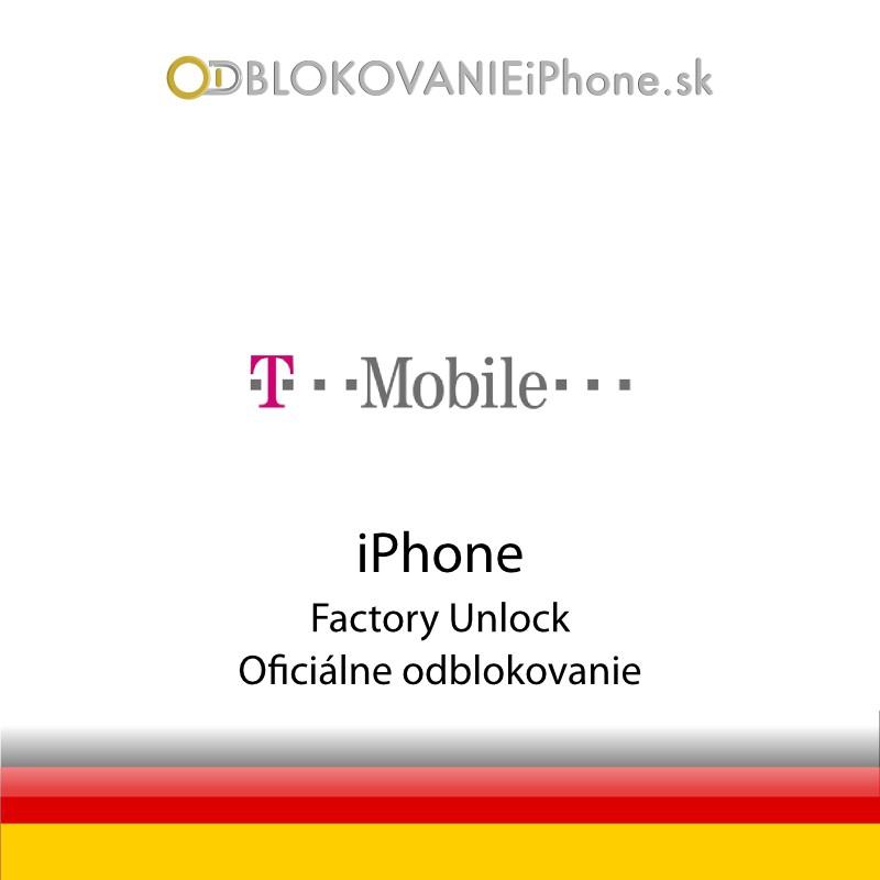 Odblokovanie iPhone 3G, 3GS, 4, 4S - Tmobile DE