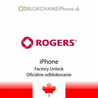 Odblokovanie iPhone 3G, 3GS, 4, 4S, 5 - Rogers Canada