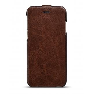 Kožené púzdro pre iPhone 6 HOCOCASE HI-L062 Hnedá