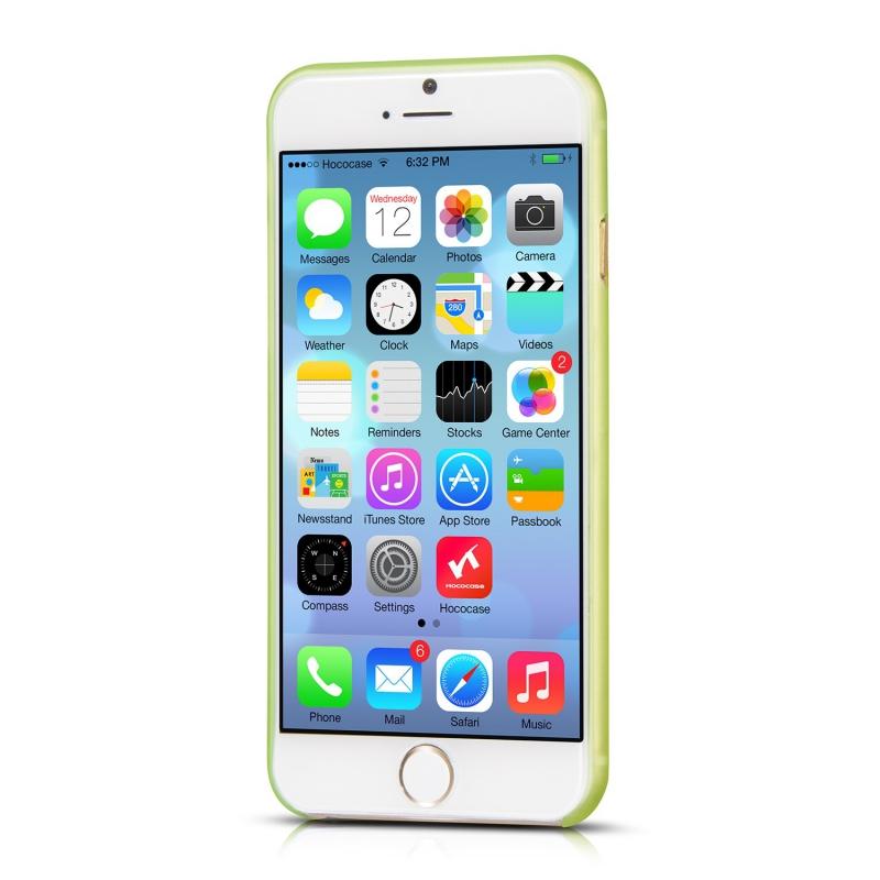 Znížená cena Ultra tenké púzdro pre iPhone 6 HOCOCASE HI-P025 Zelená d912e32a555