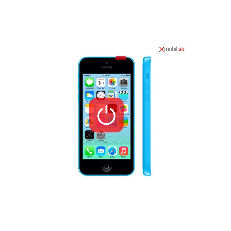 Oprava tlačidla zapínania ON/OFF na iPhone 5C v BA
