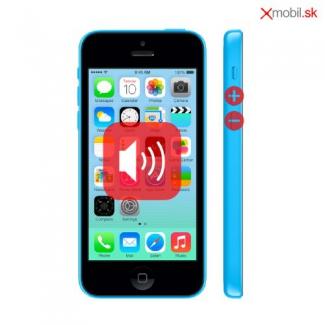 Oprava tlačidiel hlasitosti na iPhone 5C v BA