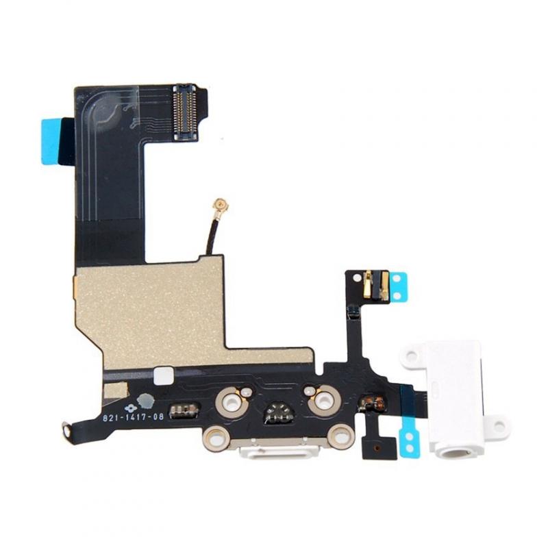 Nabíjací lightning dock a audio konektor pre iPhone 5
