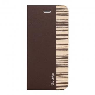 Púzdro Stone Age Wood Skin Folio pre iPhone 6