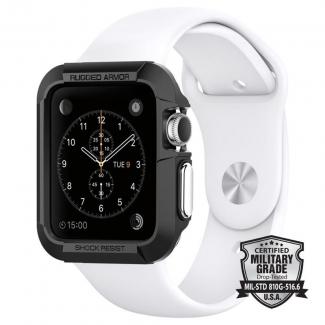 Spigen ochranný kryt pre Apple Watch 42mm Rugged Armor