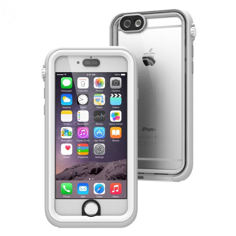 Púzdro Catalyst Waterproof case pre iPhone 6/6S biele