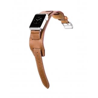 HOCO Art Platinum kožený náramok pre Apple Watch 38mm