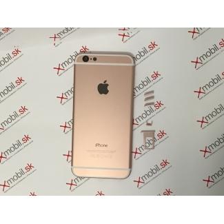 Zadný hliníkový kryt pre iPhone 6 Rose Gold