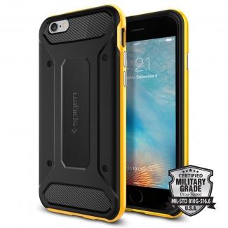 Púzdro Spigen Neo Hybrid Carbon iPhone 6/6s čierno-žltý