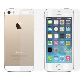 Ochranná vrstva z tvrdeného skla pre iPhone 5, 5S, SE - obojstranná