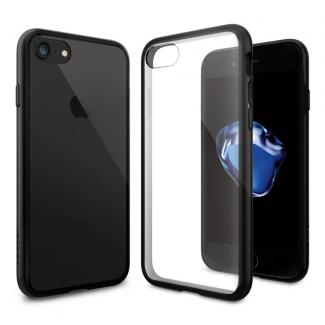 Púzdro Spigen Ultra Hybrid iPhone 7 čierno-priesvitné