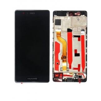 LCD displej s digitizérom a rámom pre Huawei P9