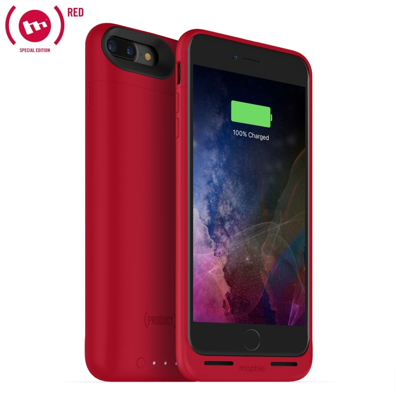 Mophie Power Case Juice Pack Air pre iPhone 8 Plus / 7 Plus - 2420mAh - červená