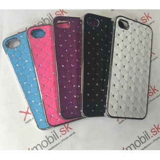 Hard Case Chrome s kamienkami pre iPhone 4, 4S