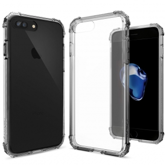 Púzdro Spigen Crystal Shell iPhone 7 Plus Dark Crystal