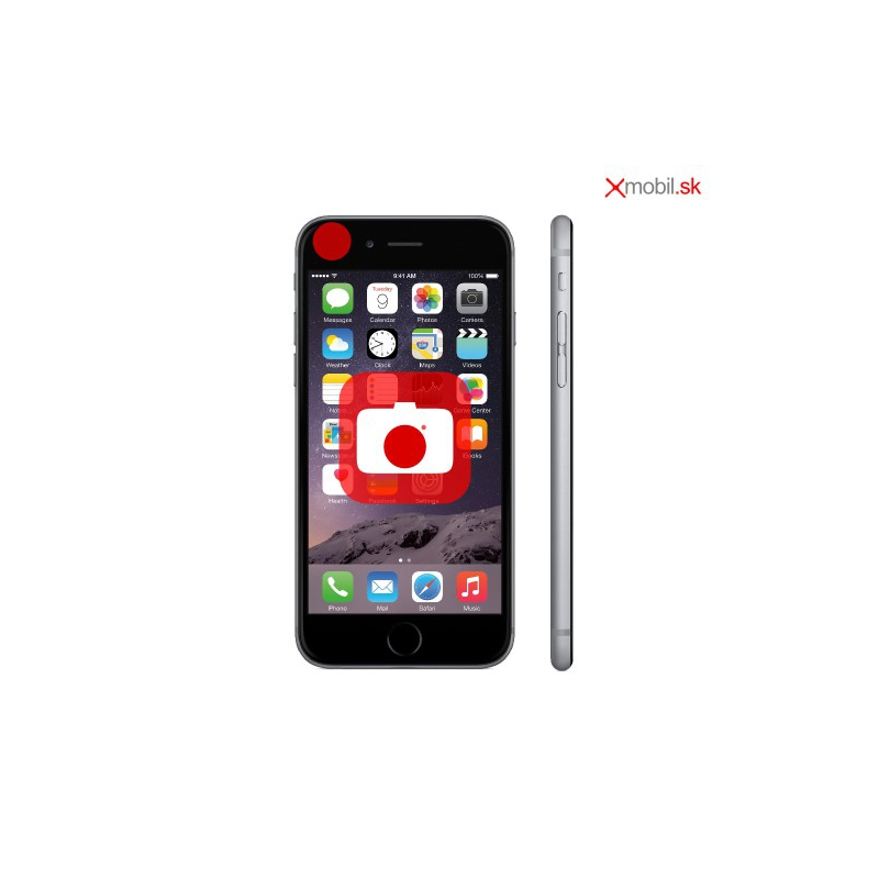 Výmena prednej kamery na iPhone 7 v BA