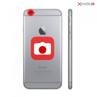Výmena rozbitého sklíčka zadnej kamery na iPhone 8 Plus v BA
