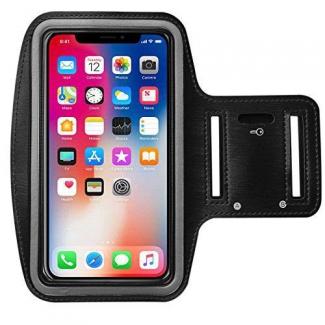 Športové púzdro pre iPhone X / XS - čierne