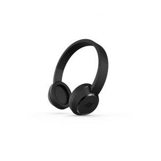 iFrogz Coda bluetooth slúchadlá s mikrofónom - čierne