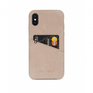 Púzdro Decoded Leather Case pre iPhone X - Natural