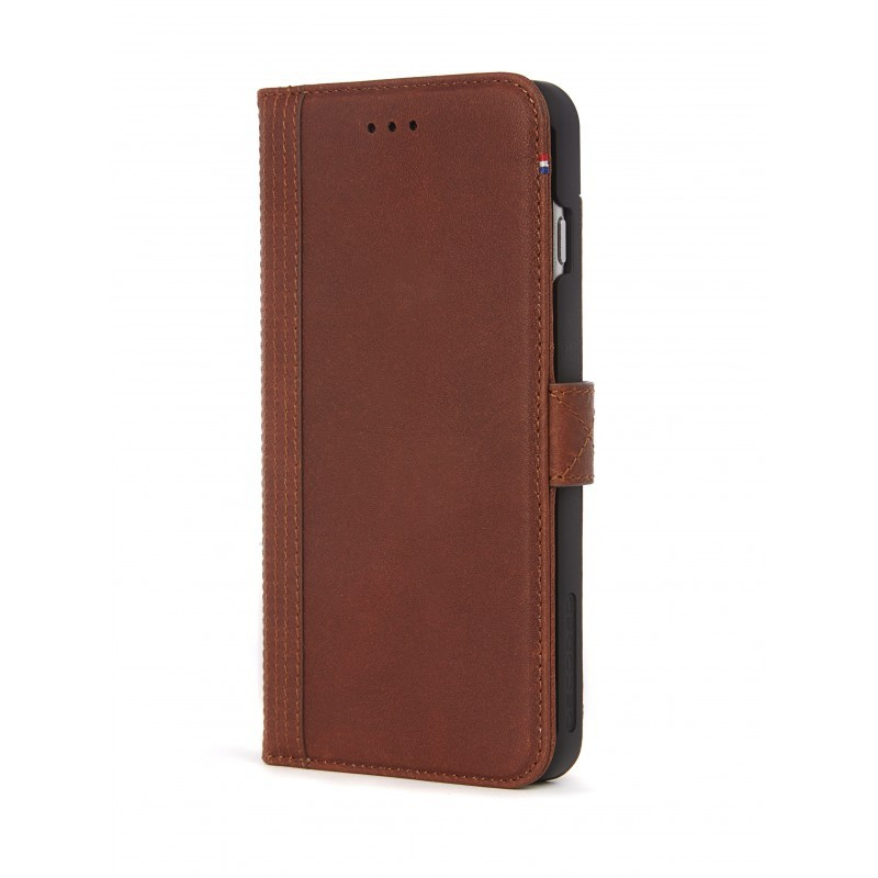 Púzdro Decoded Leather Wallet Case pre iPhone 6/6S Plus, 7 Plus, 8 Plus - Cinnamon