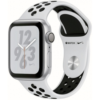 Apple Watch Nike+ Series 4 GPS, 44mm Silver Aluminium