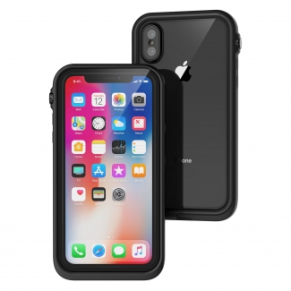 Catalyst Waterproof case pre iPhone XS - čierny