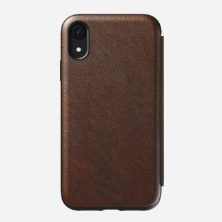 Kožené púzdro Nomad Ruged Folio pre iPhone XR