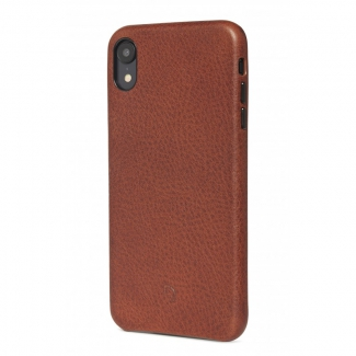 Púzdro Decoded Leather Case pre iPhone XR - hnedé