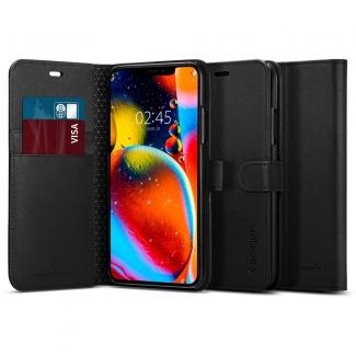 Puzdro SPIGEN Wallet S iPhone 11Pro - čierne