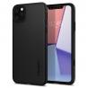 Púzdro Spigen Thin Fit Classic iPhone 11 Pro Max Black - čierne
