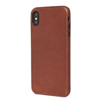 Púzdro Decoded Leather Case pre iPhone XS Max - hnedé