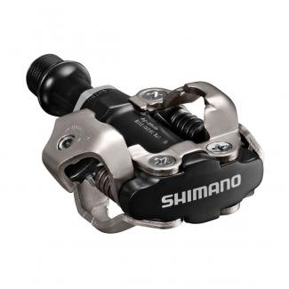 Pedále Shimano SPD PD-M540 + kufre, čierne